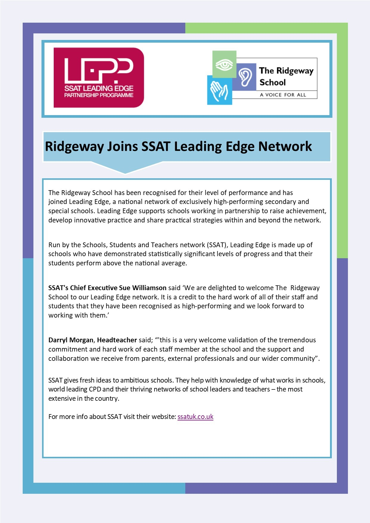 SSAT Leading Edge PP