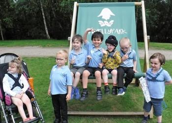 White Class Visit Wellington Country Park