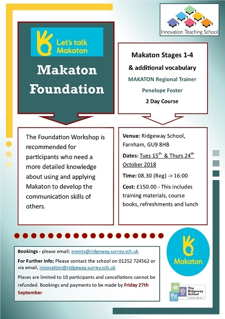 Makaton Foundation 1 - Aut19