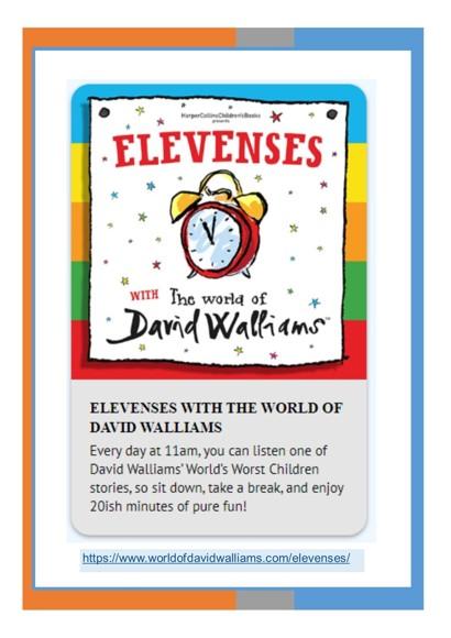 DavidWalliams Free Audio Stories