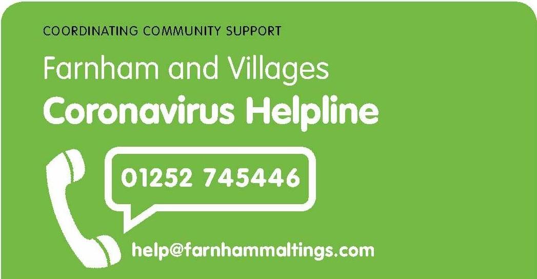 Farnham TC Helpline Header