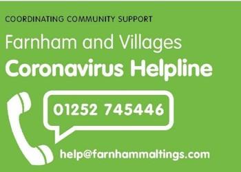Farnham Town Council Helpline
