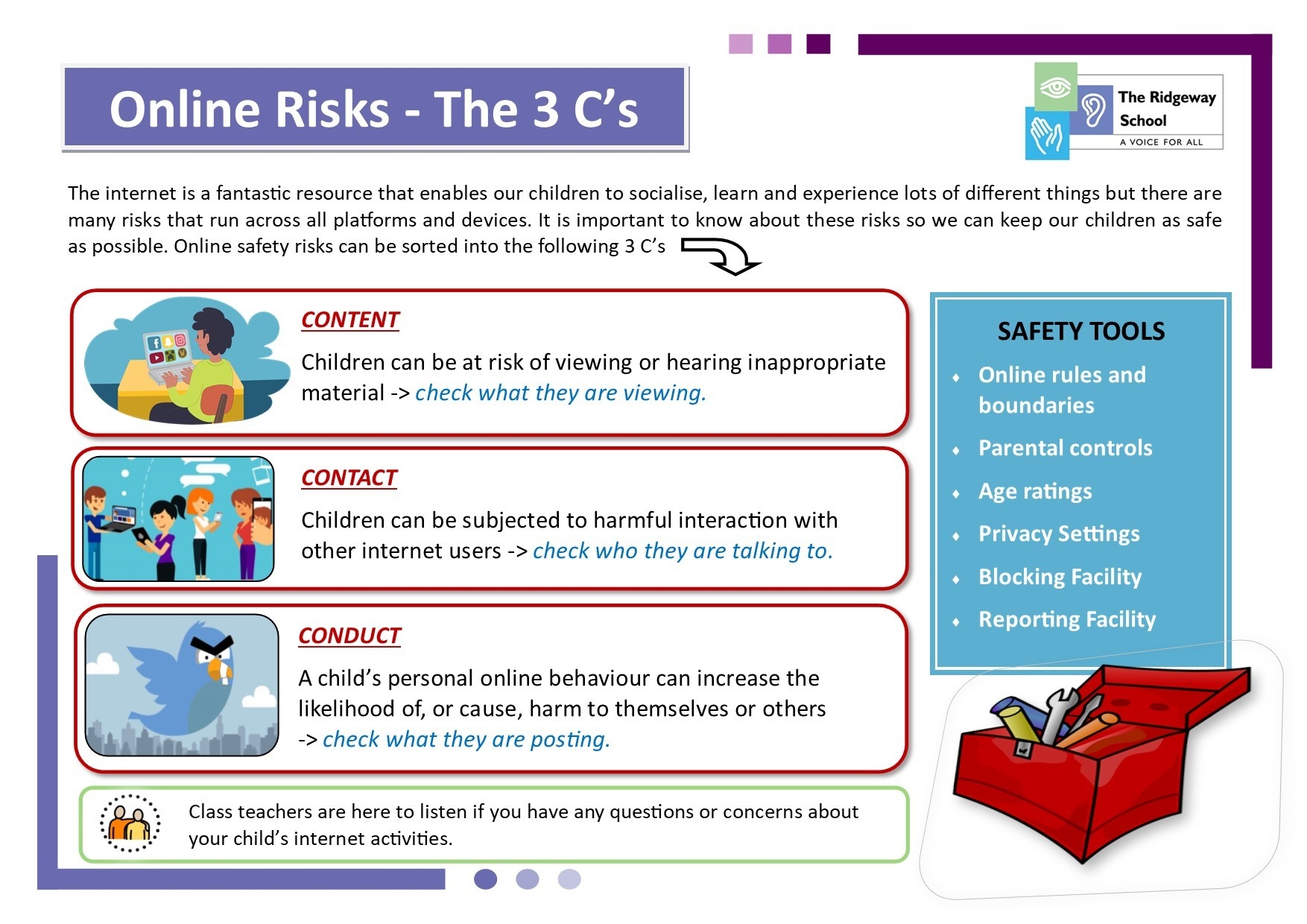 Online Safety Poster 2