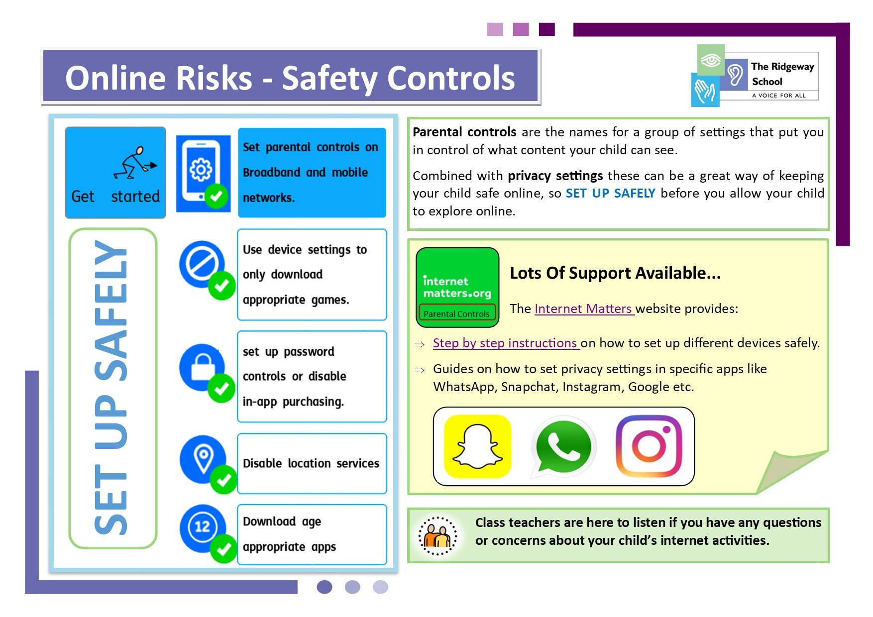 Online Safety Poster 3A