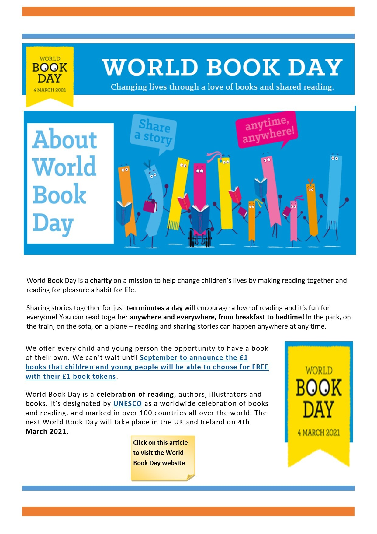 World Book Day News Article v2 web