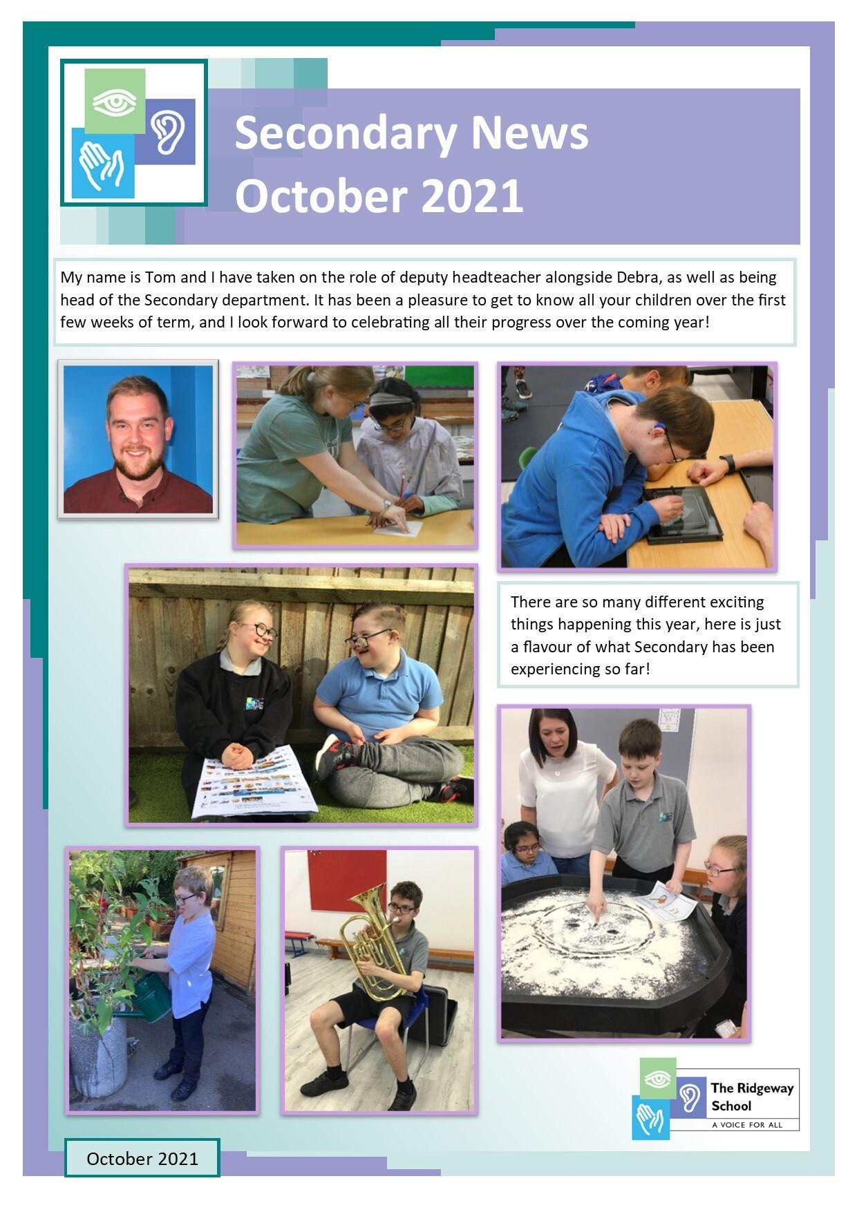 Secondary News - Oct21